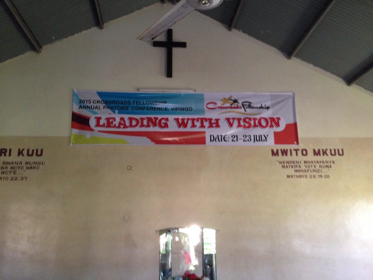2015 Pastor's Conference Theme: Leading with Vision