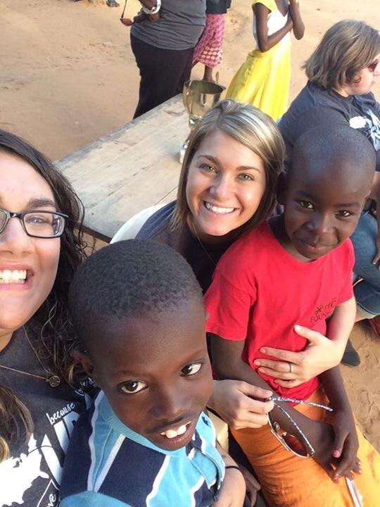 Loving on some amazing kids!