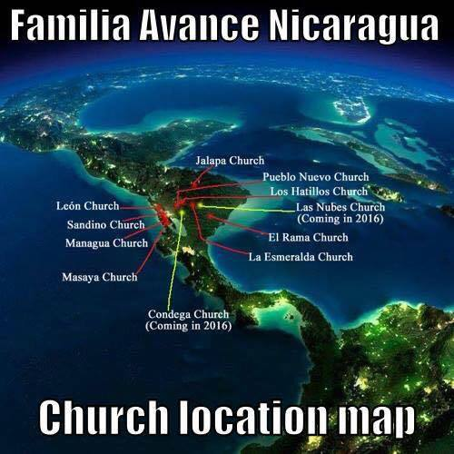 Churches Planted in Nicaragua