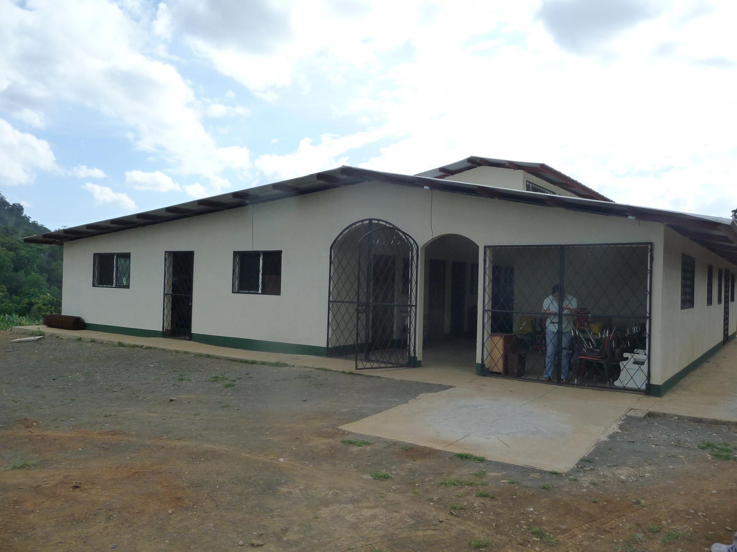 Clinic in La Esmeralda, Nicaragua