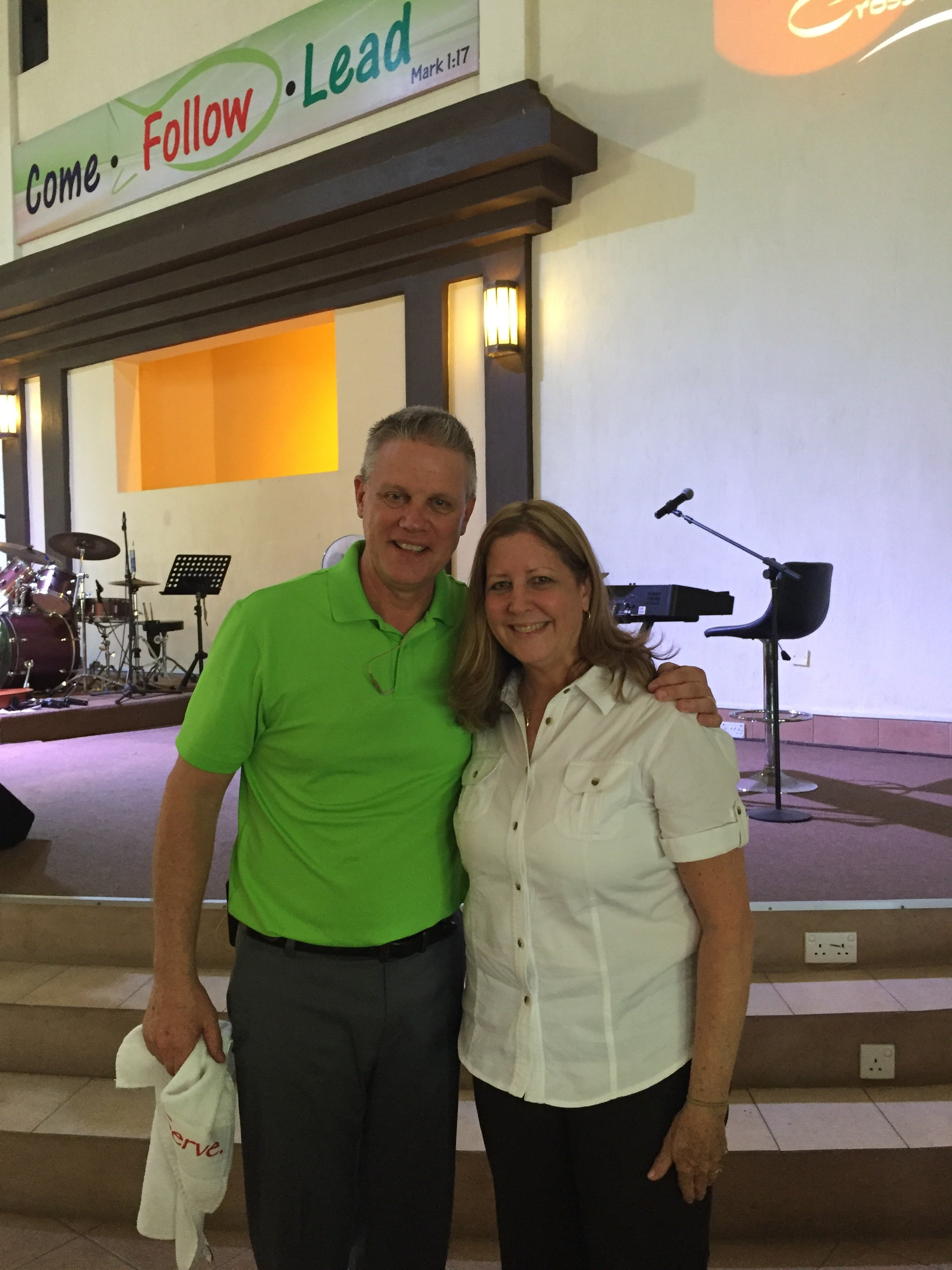 Pastor Jim Horne and his wife Susie