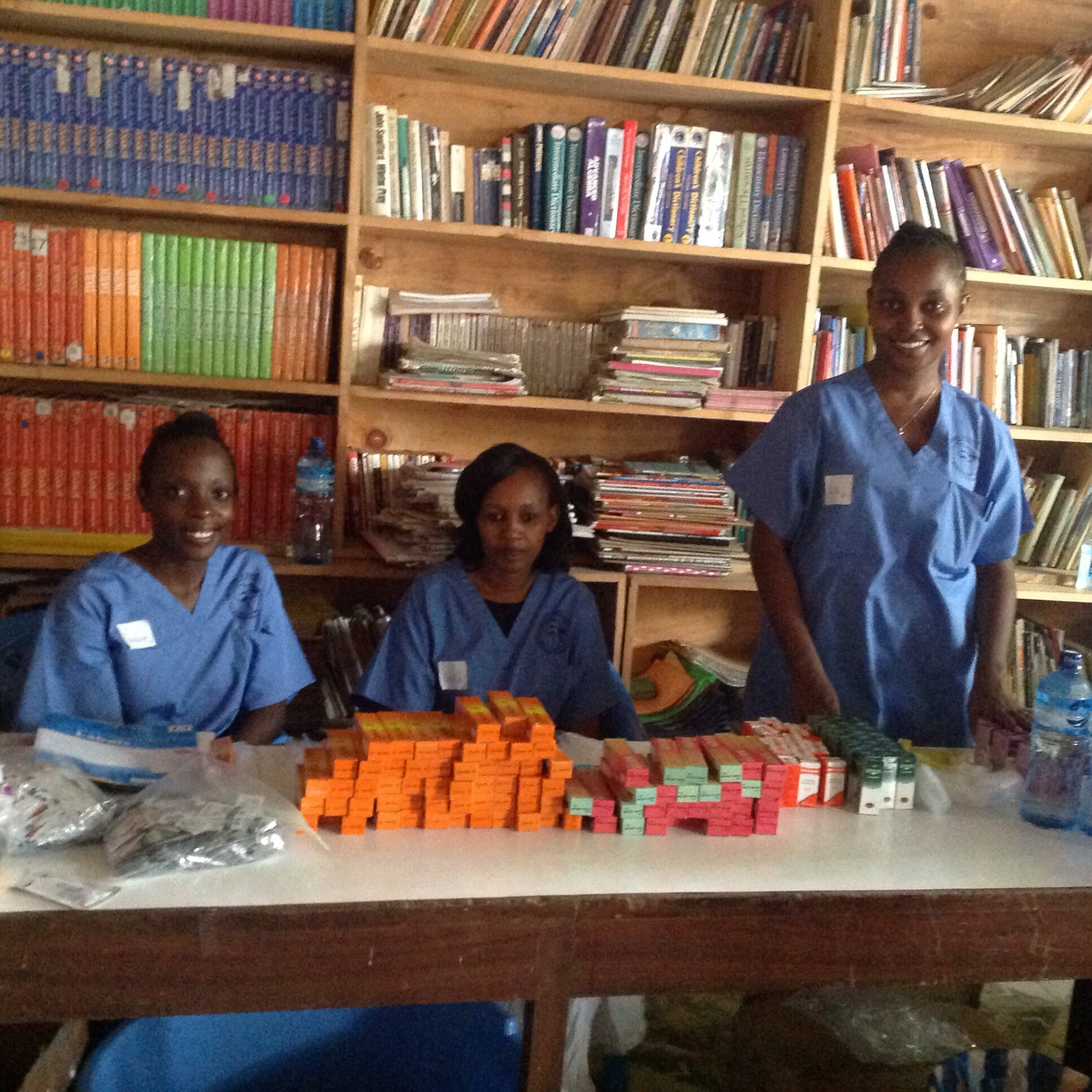 Our wonderful pharmacy techs