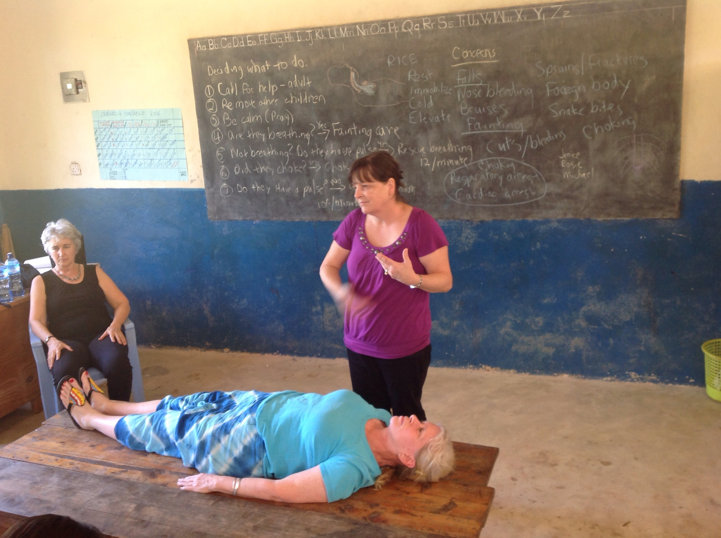 Jill, Cindy and Debbie - such great teachers!