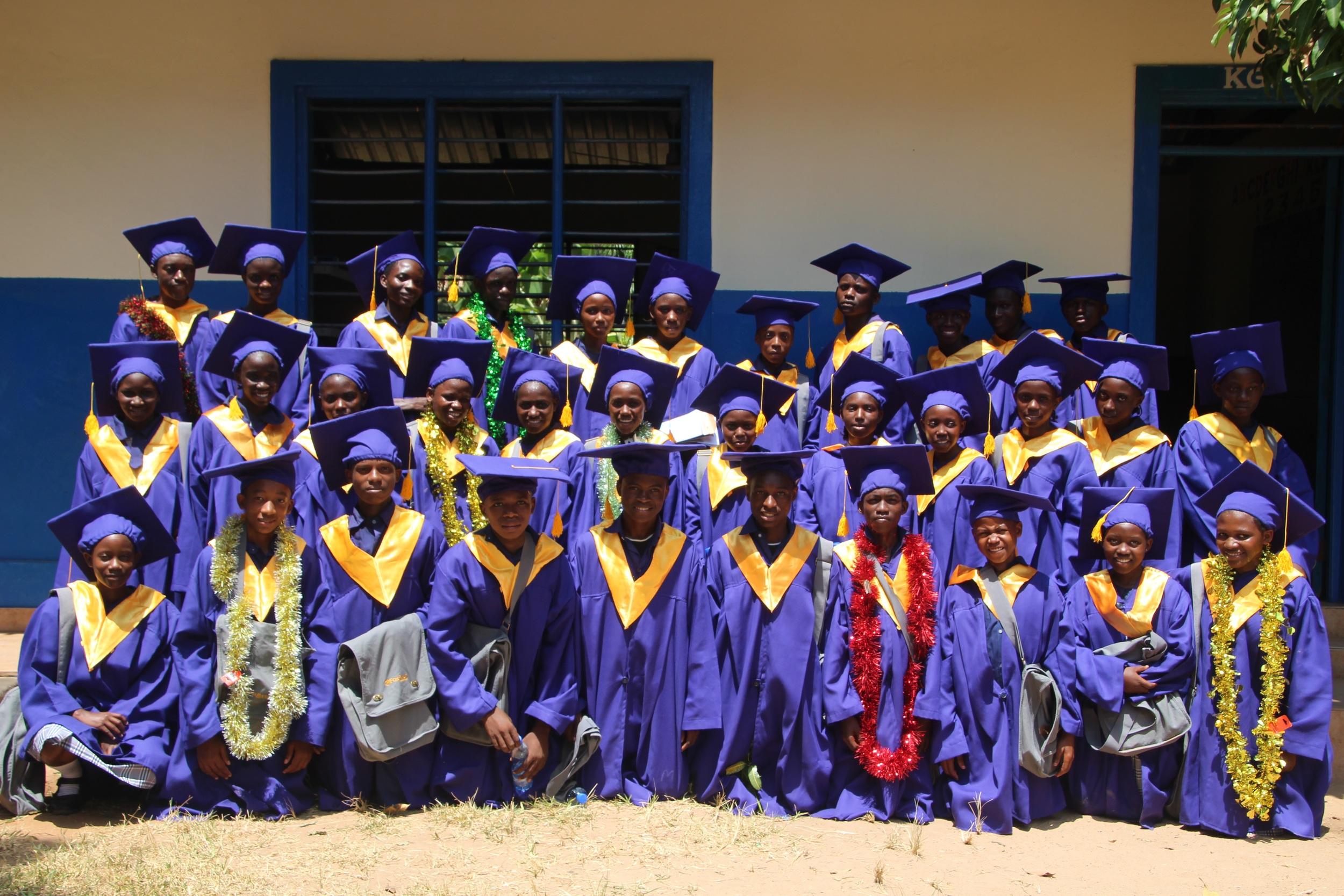 New Life Academy Bomani Class of 2015