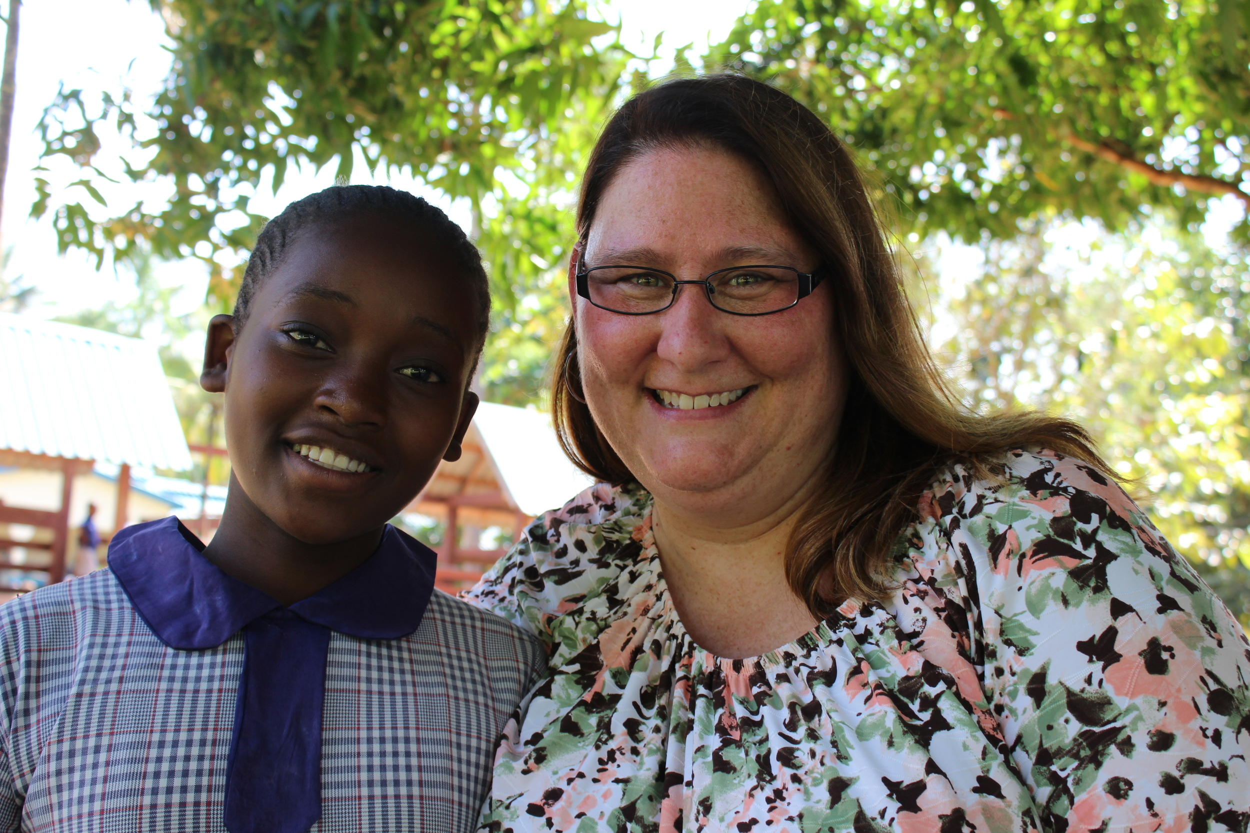 Lisa does a great job administrating many details for their missions work, but her love is for the people of Kenya!