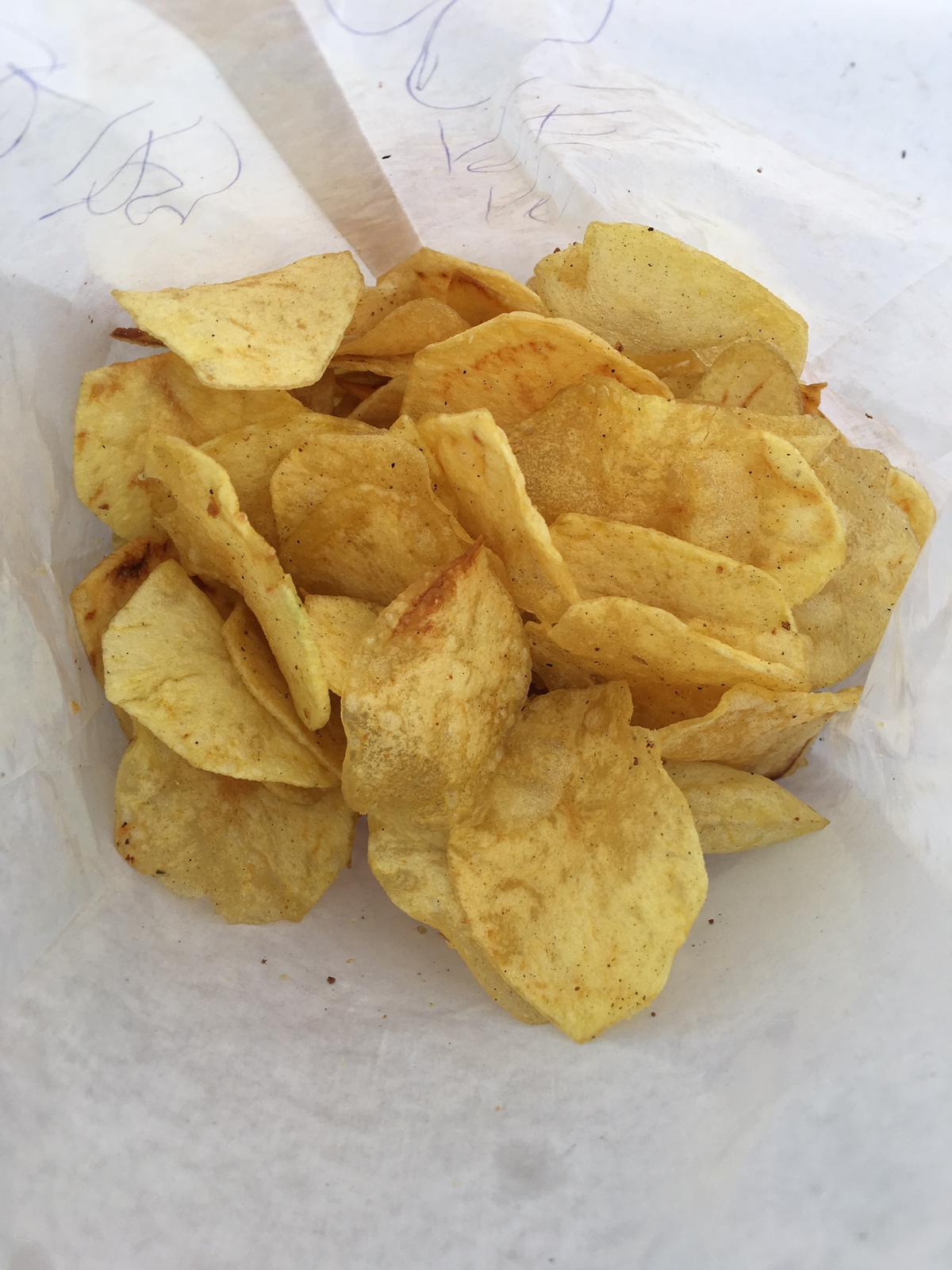 Our favorite fresh made potato chips