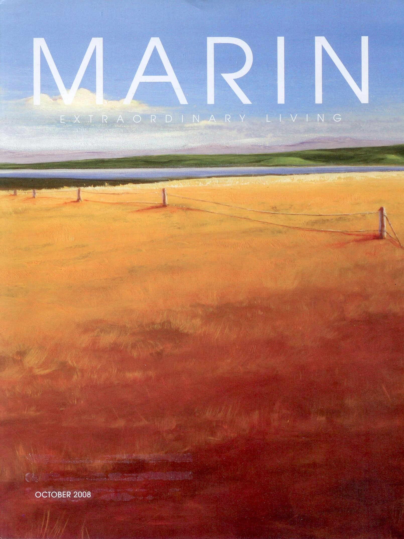 Marin Extraordinary Living Magazine - Cover Oct 2008.jpg