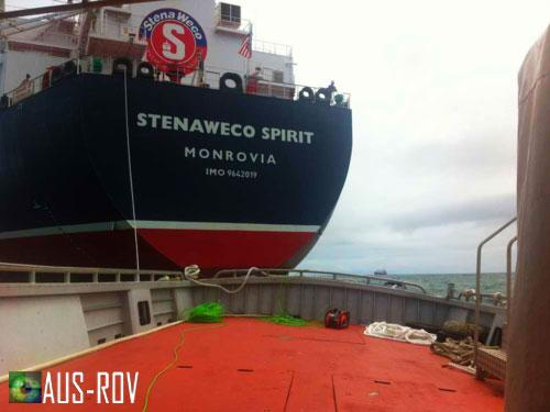 ROV UWILD Inspection of Bulk Chemical Carrier Offshore of Bunbury, WA.