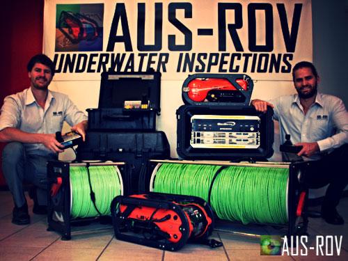 AUS-ROV Company Directors Alexander and Adrian Jahnke.
