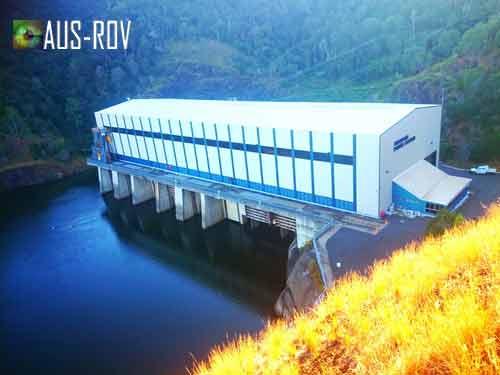 500 Megawatt Pumped Storage Hydro Electric Power Station at Waivenhoe Dam.