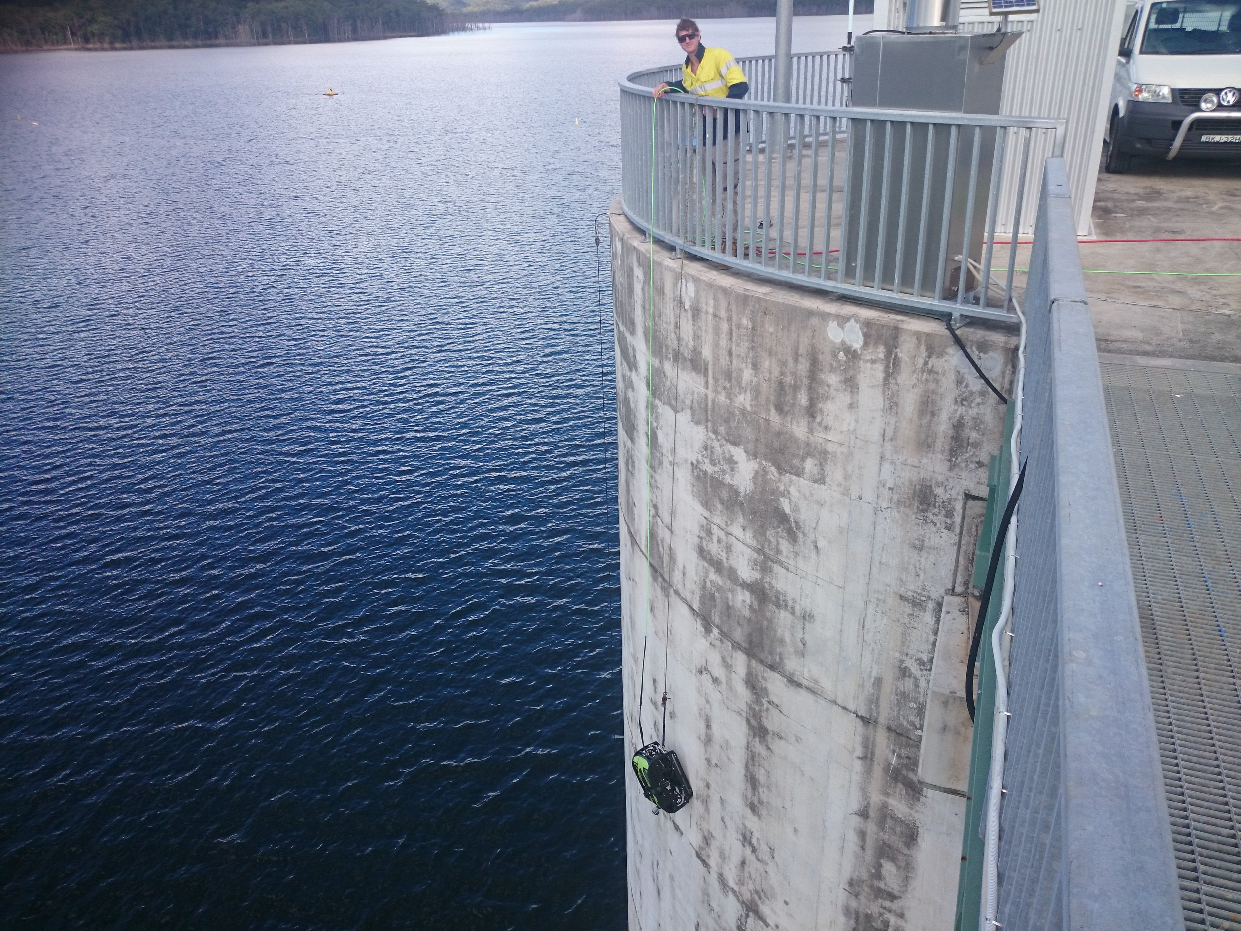 AUS-ROV Dam Inspections at Hinze Dam Remote Control Inspection 3.JPG
