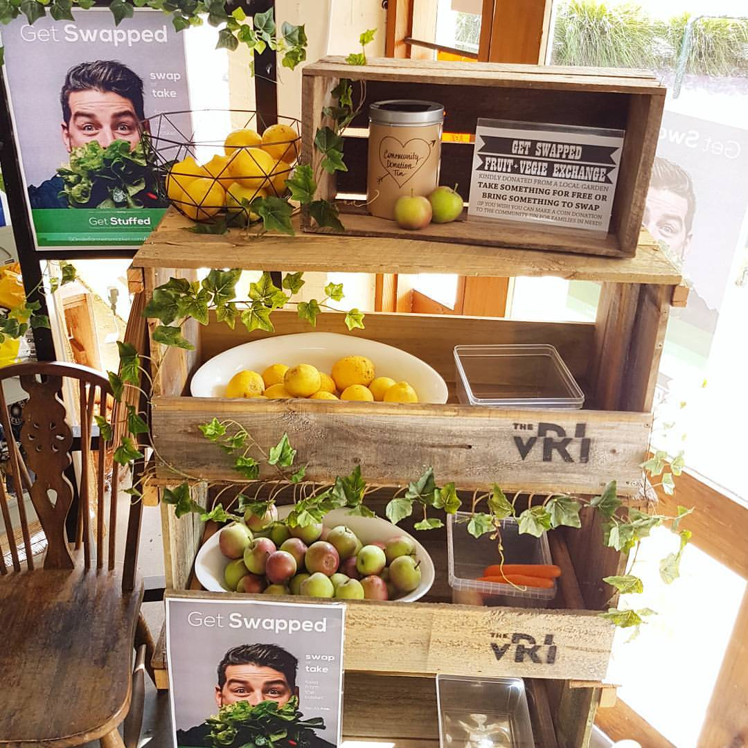 The Get Swapped box at the Yinnar General Store