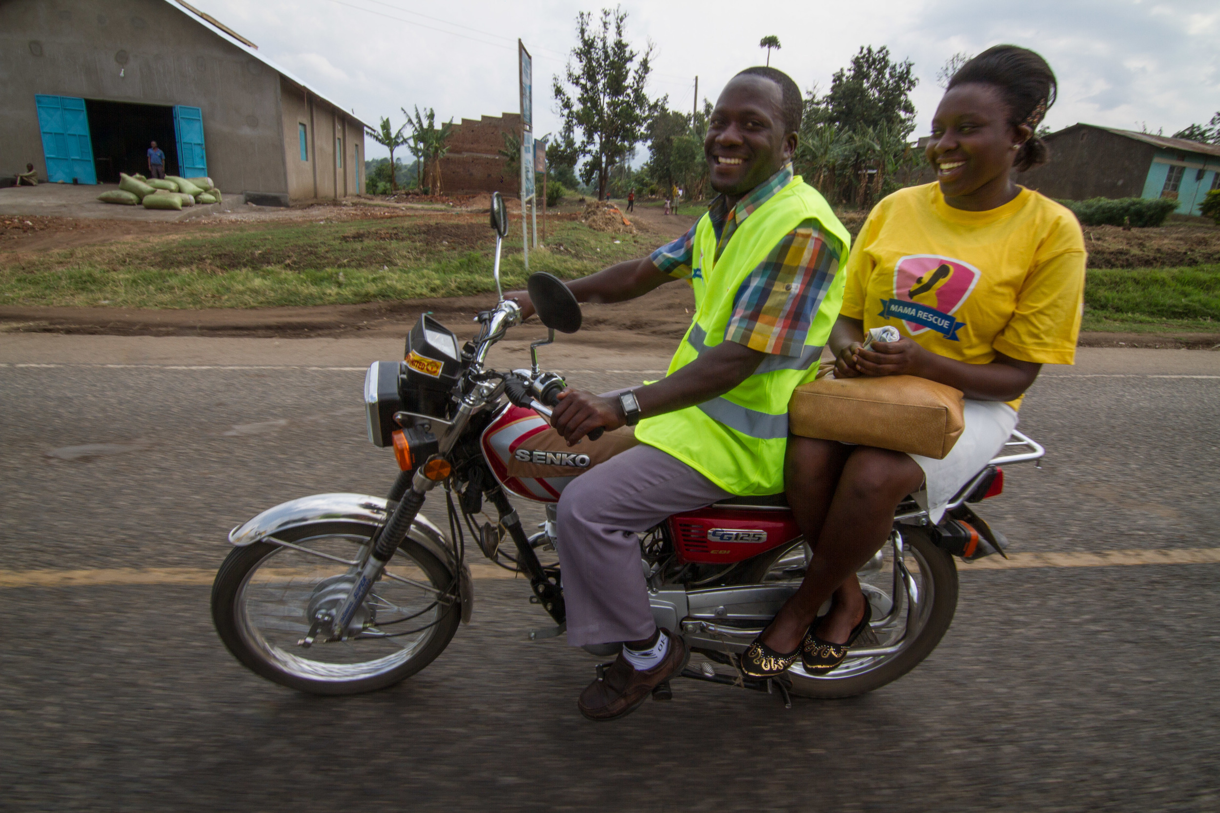 """Bodas"" are MOTORCYCLE taxi drivers, and are a very popular way of getting around, all over sub Saharan Africa."