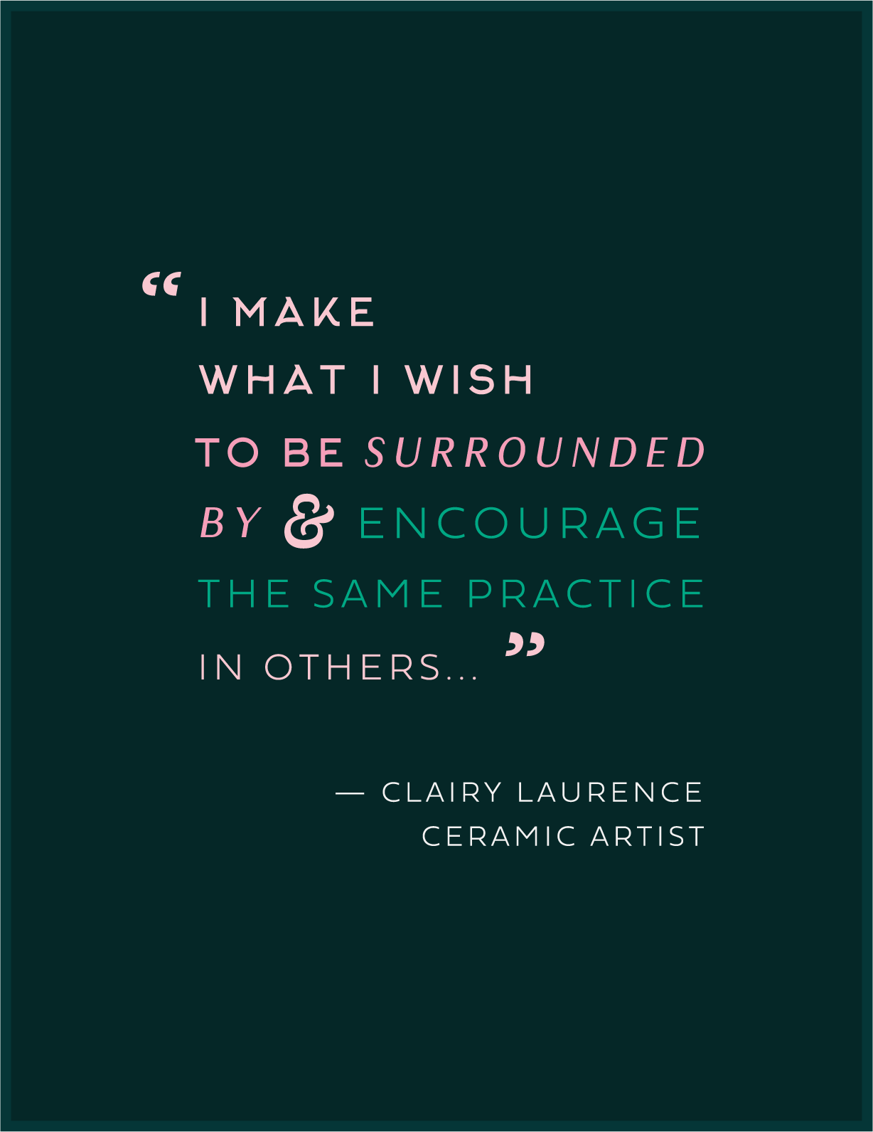 Copy of Clairy Laurence Quote