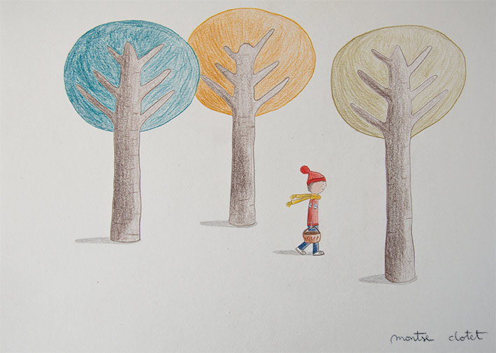 Little Red Riding Hat, by Montse Clotet.