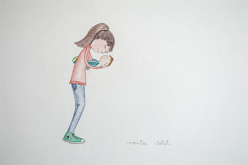 I love you baby , by Montse Clotet.