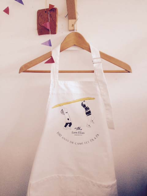 the aprons,