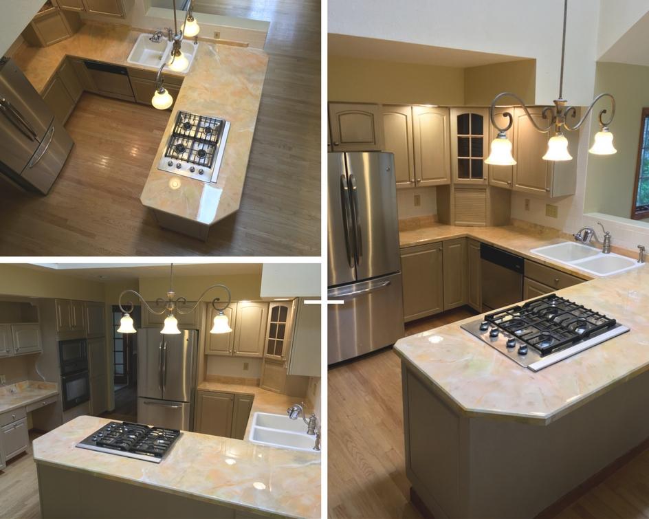 Kitchen makeover by KB Designs