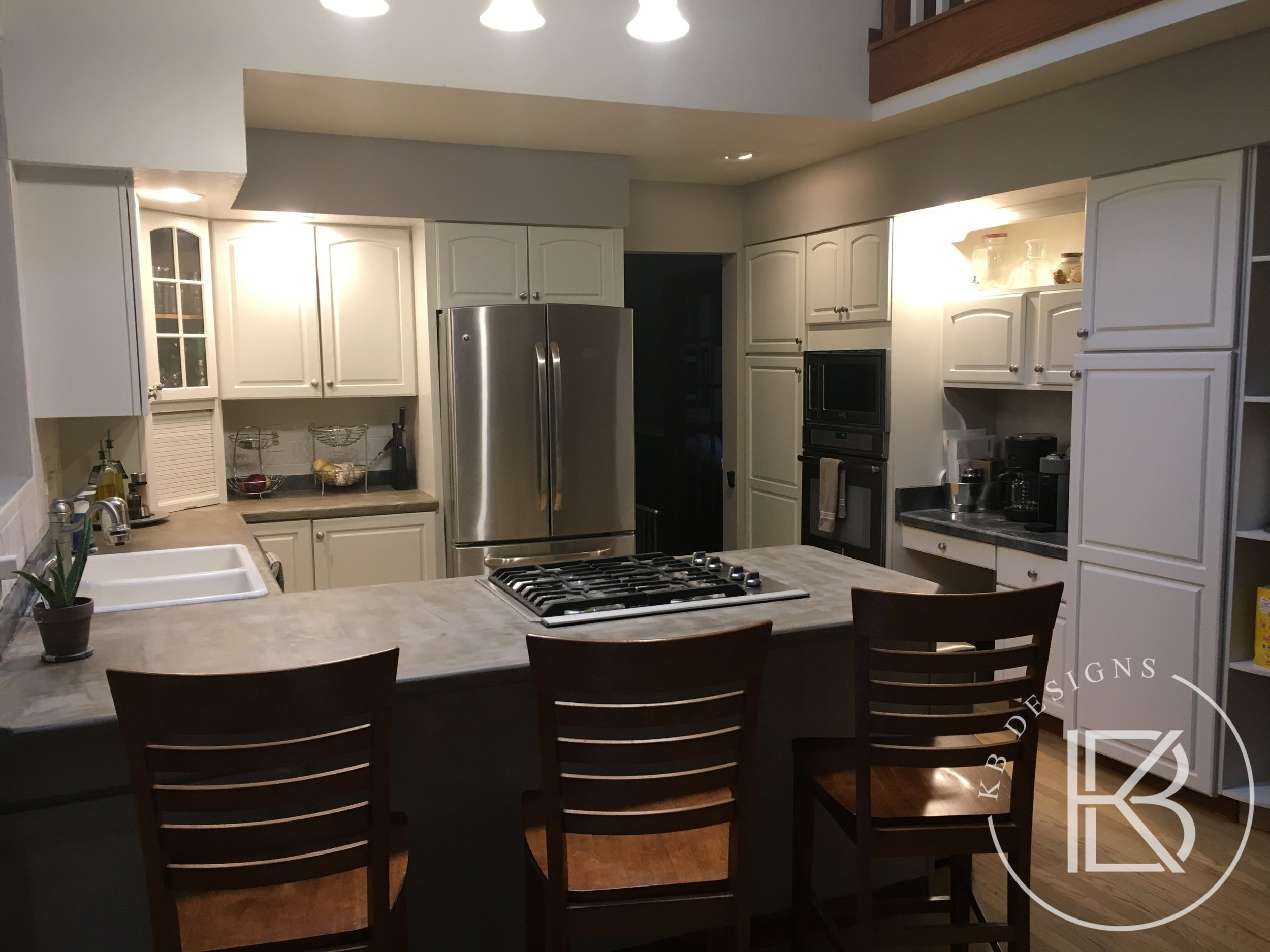 Kitchen refinishing by KB Designs