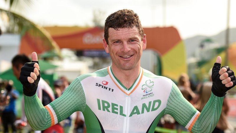 Eoghan Clifford, Paralympic Medalist