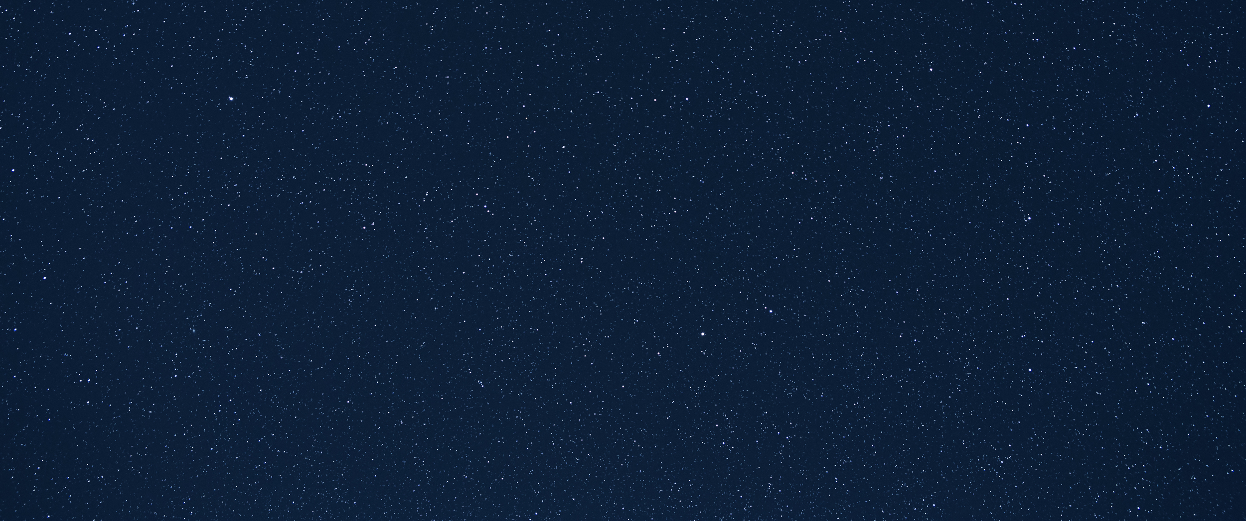 A deep view of the night sky presents thousands of stars in this single frame.