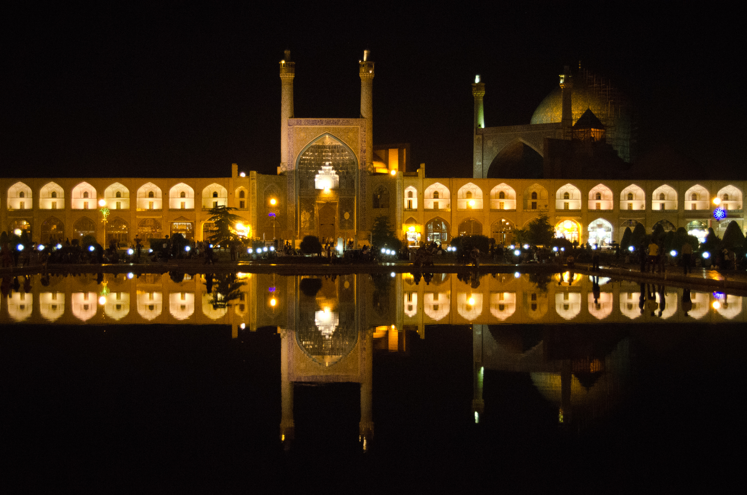 Shah Mosque on the Naghsh-i Jahan Square in Isfahan
