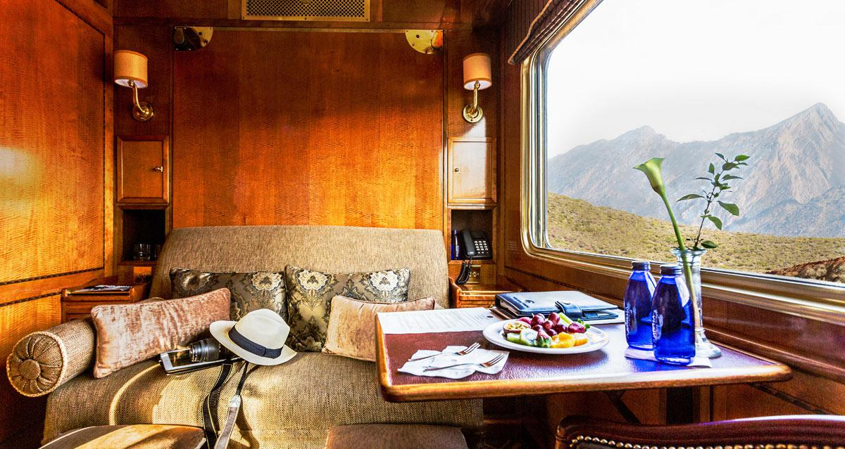 Blue Train and Grootbos