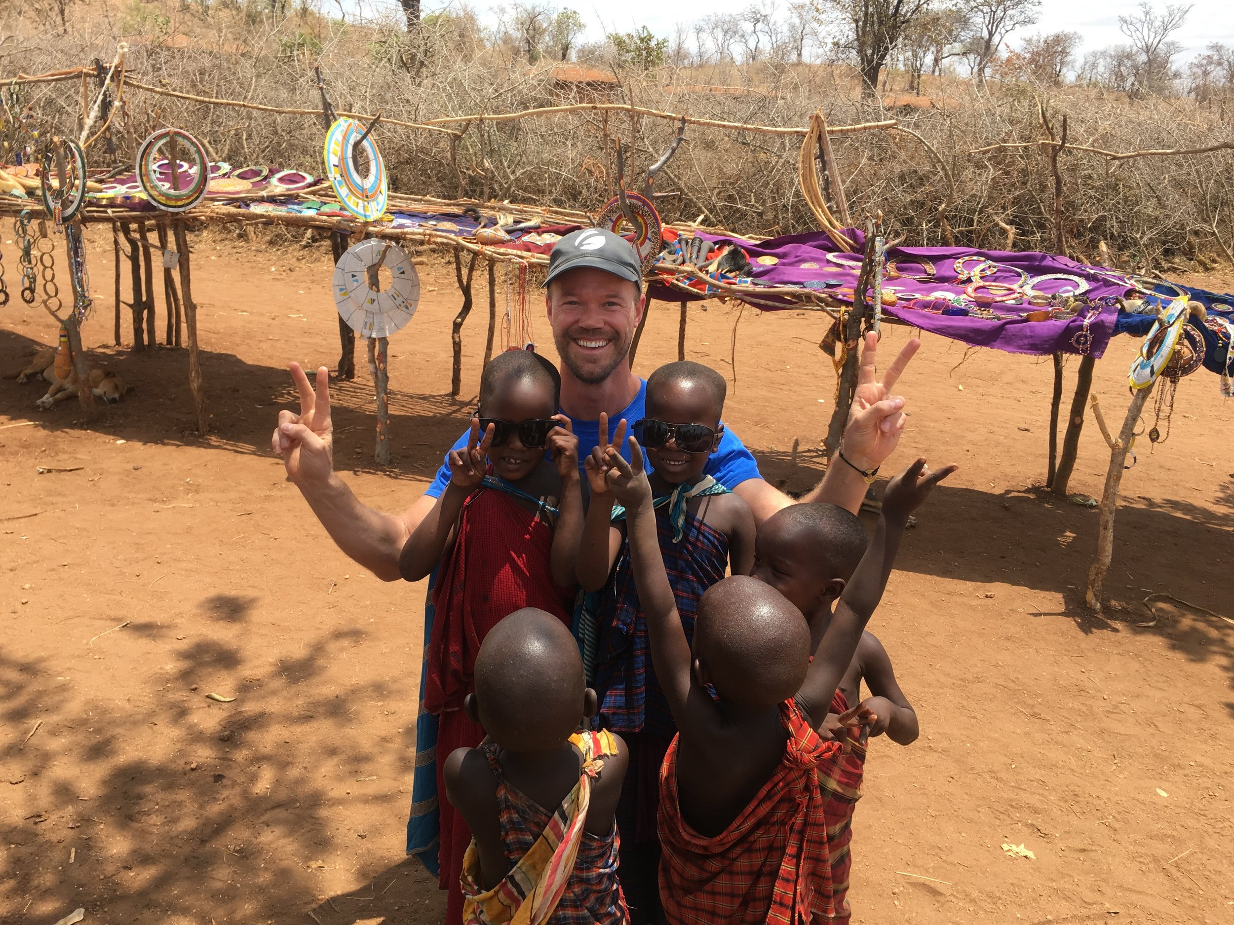 New friends in Tanzania