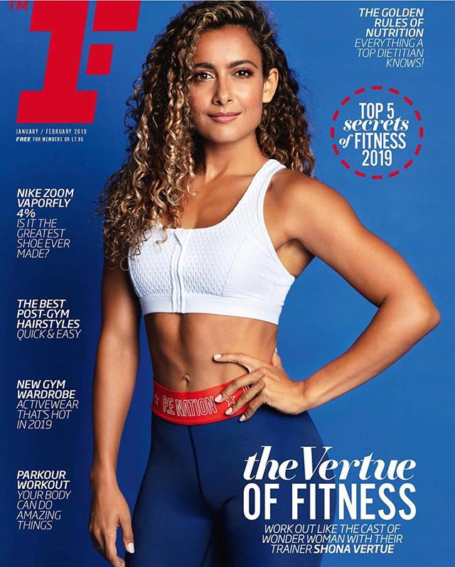 I began working at @fitnessfirstau 7 years ago (and worked there for two years before leaving for the U.K. where I continued to work at other commercial gyms and smaller PT studios). I'm not going to lie, Fitness First was a scary place for a young, (mixed race) yoga teacher and PT who had never worked in a commercial gym before (only small friendly studios). The other PT's were bigger, stronger and more knowledgable than me and I was WAY out of my comfort zone - ultimately however, this is usually where all the magic happens. -  The pressure to perform (and pay gym rent) helped me to develop so much as a personal trainer (and yoga teacher) and I really can't thank both the PT's and Fitness First enough for all the lessons (both painful and pleasurable) - let's face it - it's usually the painful and uncomfortable lessons that have the most profound effect. -  Working at fitness first (imo) was one of the best ways to gain exposure to an array of different bodies and personalities (because yes, being able to coach someone isn't just about working their body, but also how they psychologically respond to the coaching and information). -  The Vertue Method would not be as successful as it is today if I had not spent hours and hours and hours on the gym floor learning from my clients. -  MASSIVE THANKS goes to the @fitnessfirstmag for such a big feature in the magazine. It really means a lot - not just because IT'S MY FIRST EVER COVER - but also because Tony and the team were so adamant that it reflected the real Shona (curly haired and brown) and it means a lot that my skin wasn't lightened, nor did I have to straighten my hair. -  It's kind of ridiculous that in this day and age I even have to concern myself with this kind of thing but it's happened in at least 70% of the print media I've ever been featured in. Also, as you can see from the second photo (taken on my first day at FF) - embracing my authentic 'ethnic' self has taken ME a good 20 something years (and it's still a work in progress). - The fitness first mag featuring a WOC on their cover is a BIG STEP for Australian media - I look forward to seeing more and more POCs in the future. #vertuecrew