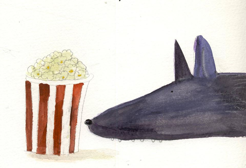 the wolf and the pop corn