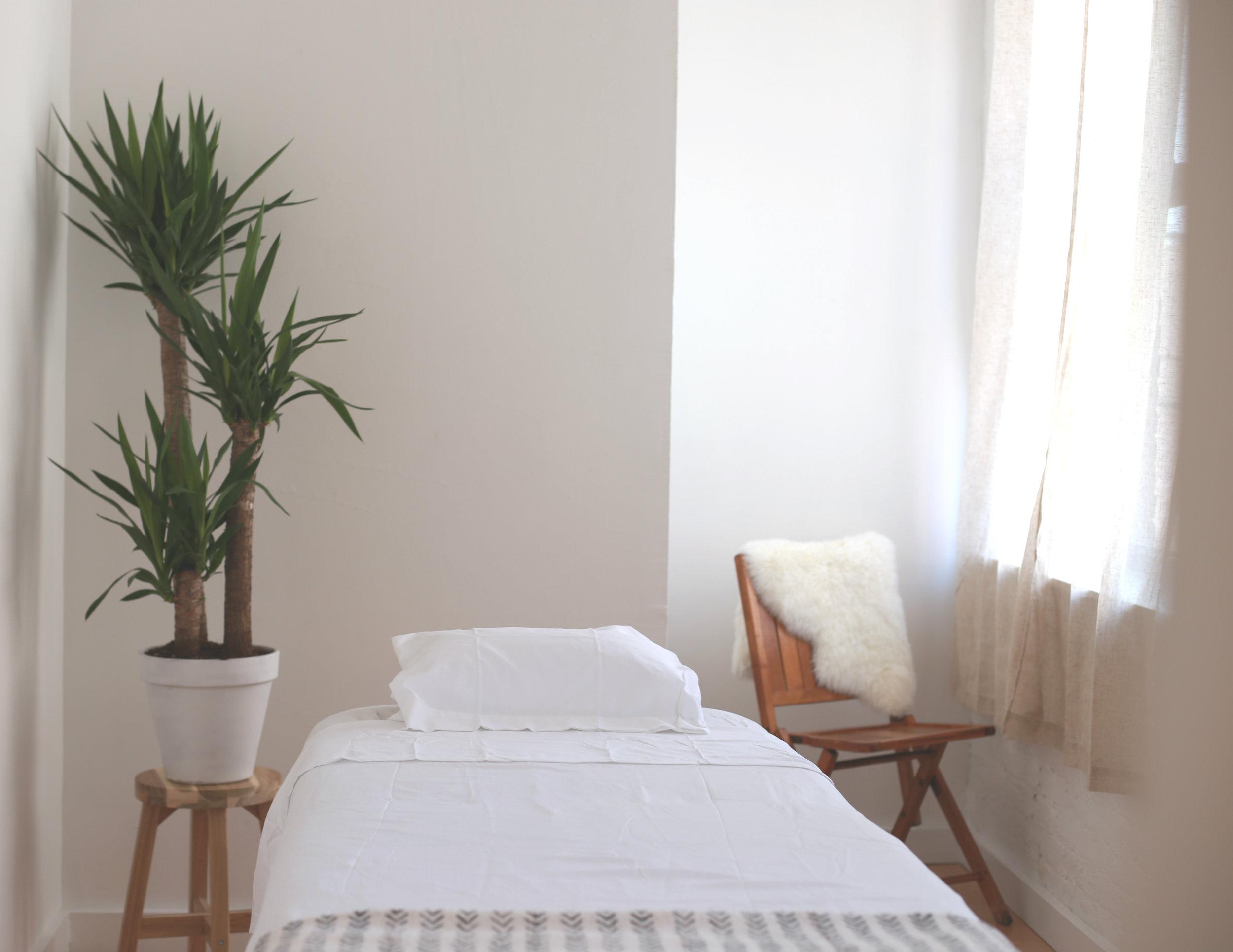 Treatment Room at Massage Greenpoint