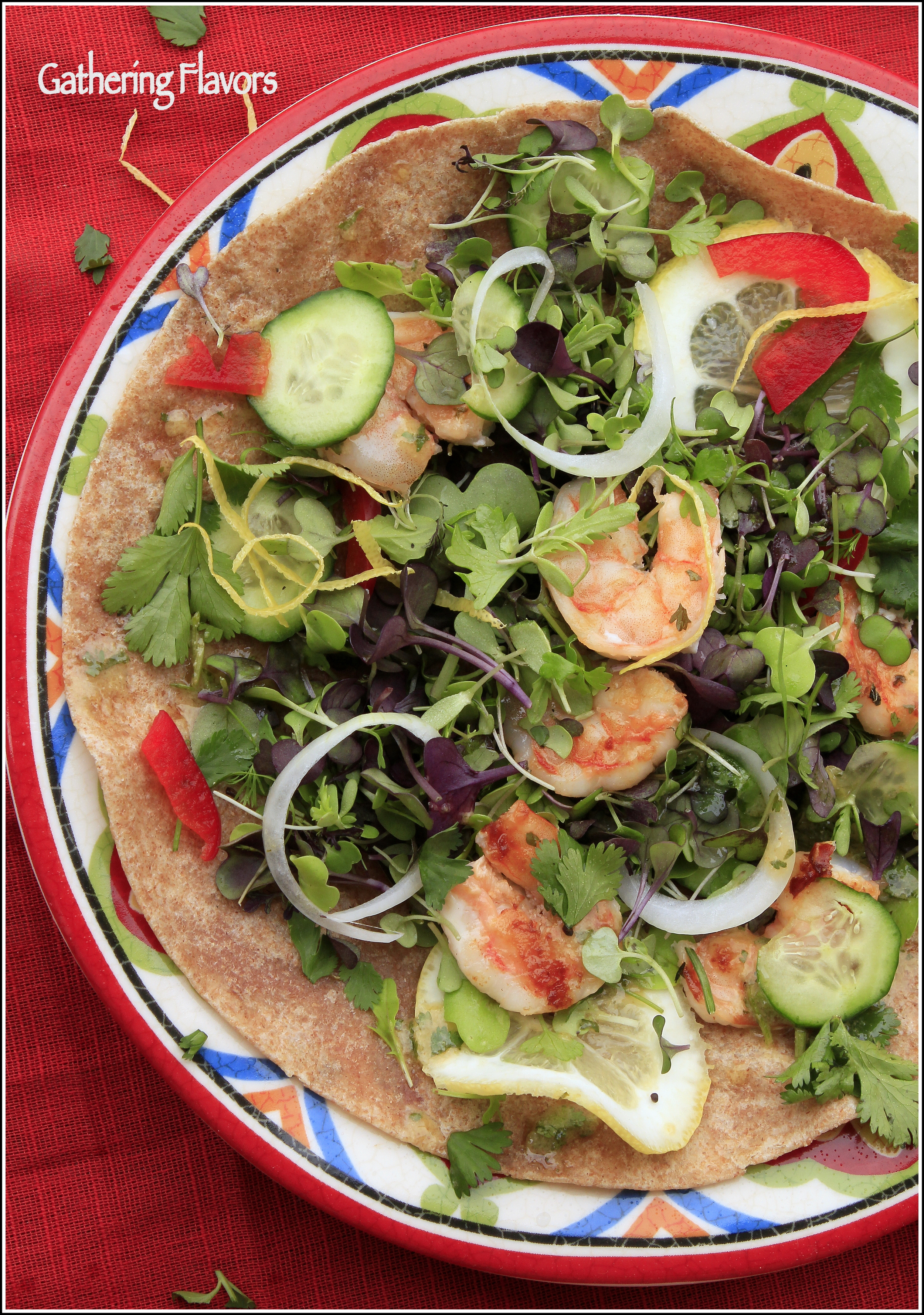 Tacos with Spring Greens