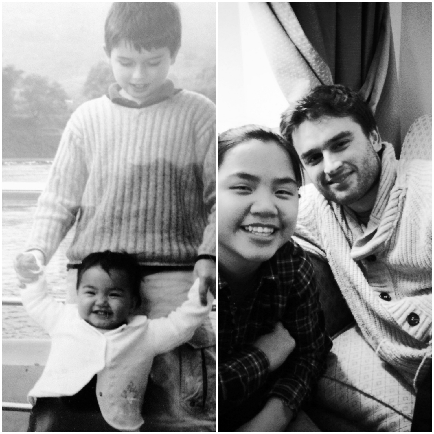 Clark and Isabel, Then and Now