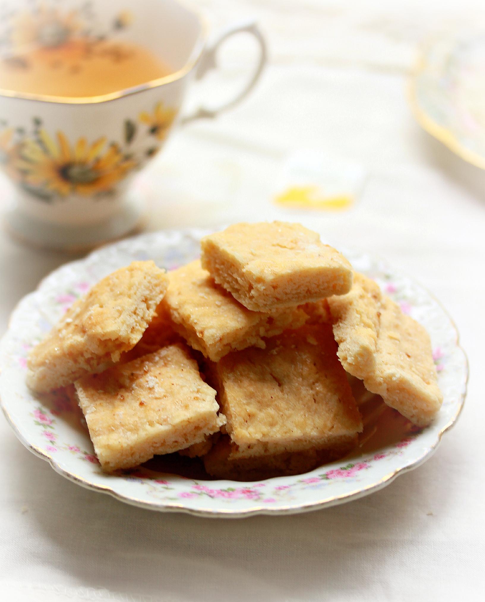 Lemony Tea Snaps by Dena T Bray