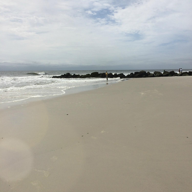 Long Beach Long Island by Dena T Bray