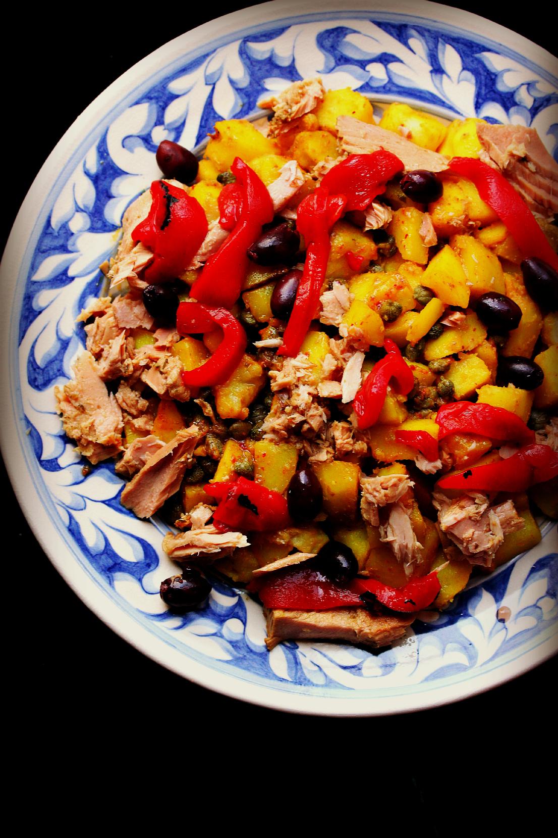 ©Winter Potato and Tuna Salad by Dena T Bray