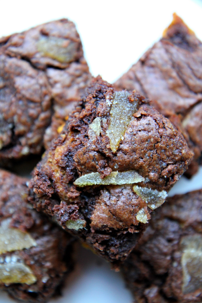 ©Pumpkin Brownies by Dena T Bray
