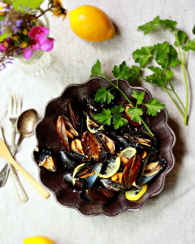 ©Steamed Mussels by Dena T Bray