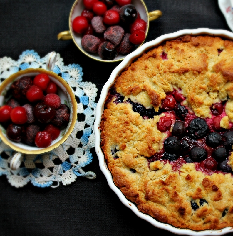 ©Olive Oil and Cherry Cake by Dena T Bray