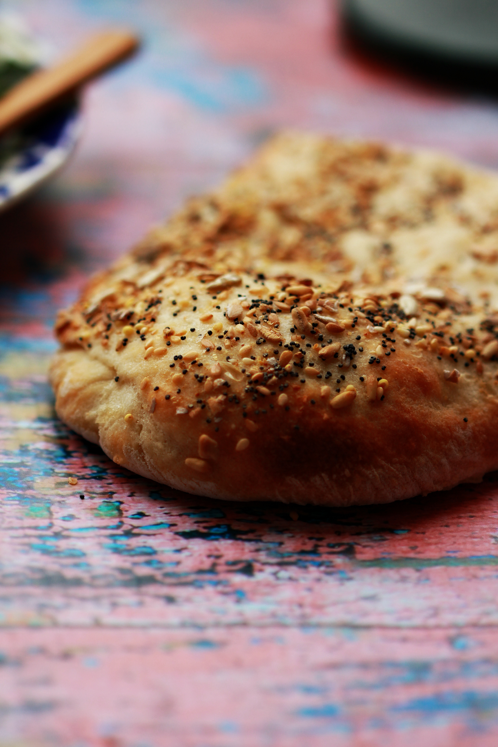 Half Loaf, Iranian Flatbread by Dena T Bray