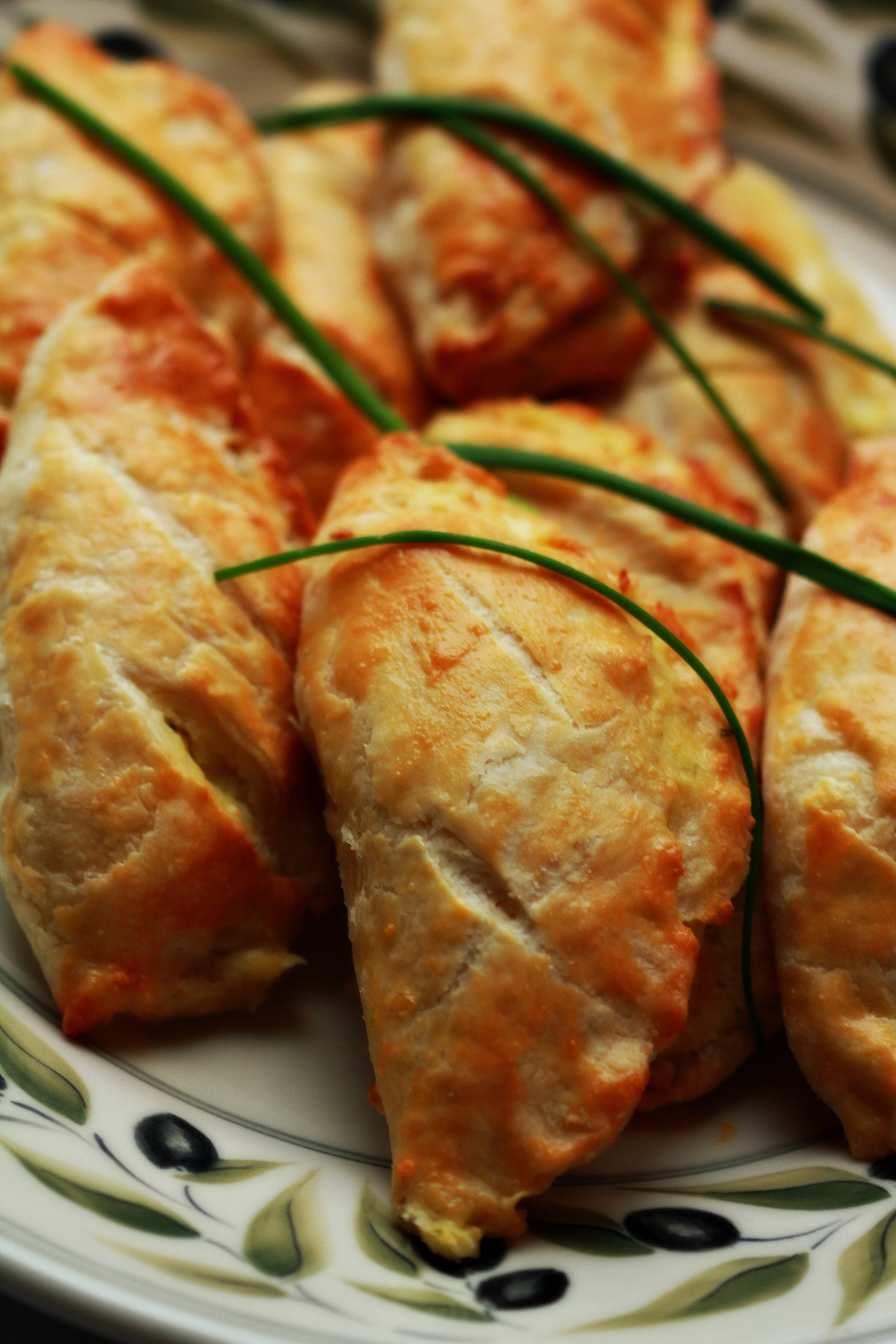 ?Savory Cheese Turnovers by Dena T. Bray
