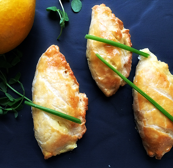 �Savory Cheese Turnovers by Dena T Bray