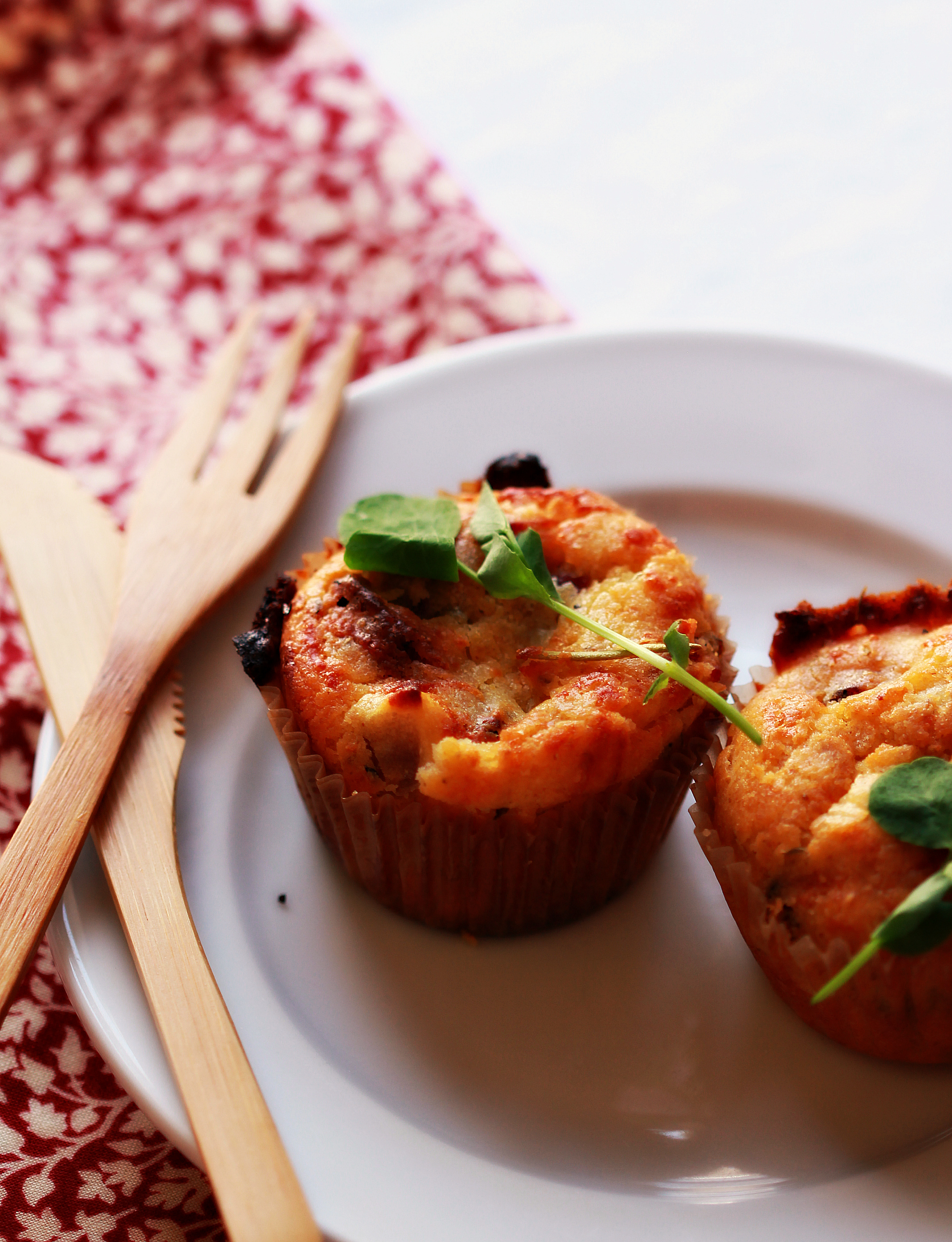 ©Bacon and Cheese Muffins by Dena T Bray
