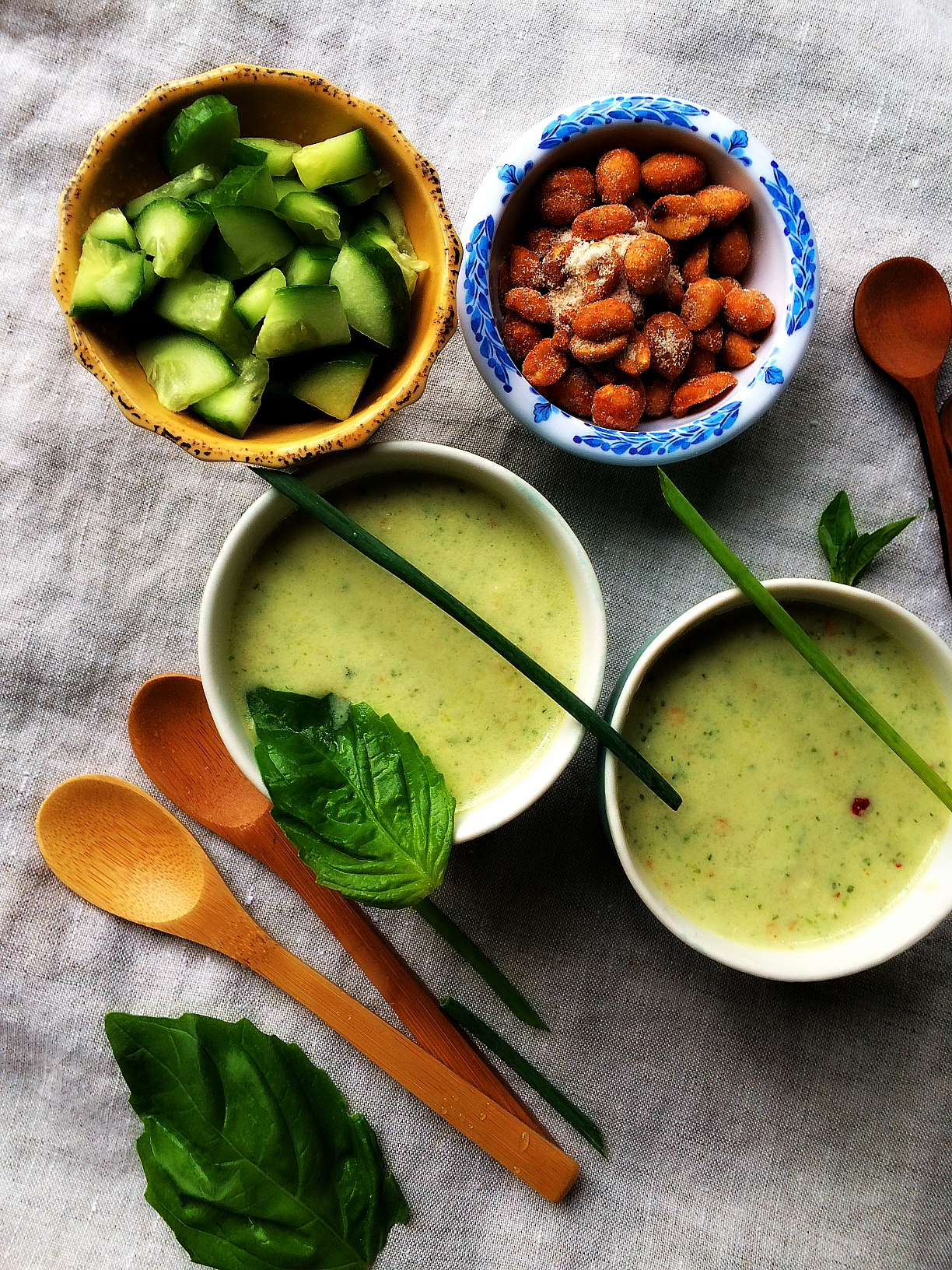 © Cold Cucumber Soup by Dena T Bray