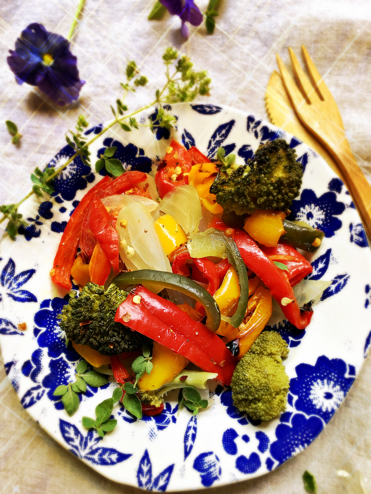 ©Roasted Vegetable Medley by Dena T Bray