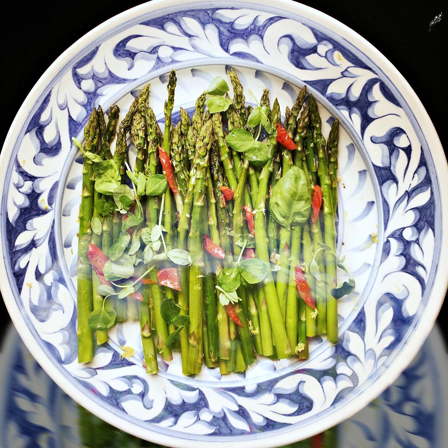 ©Asparagus Salad by Dena T Bray