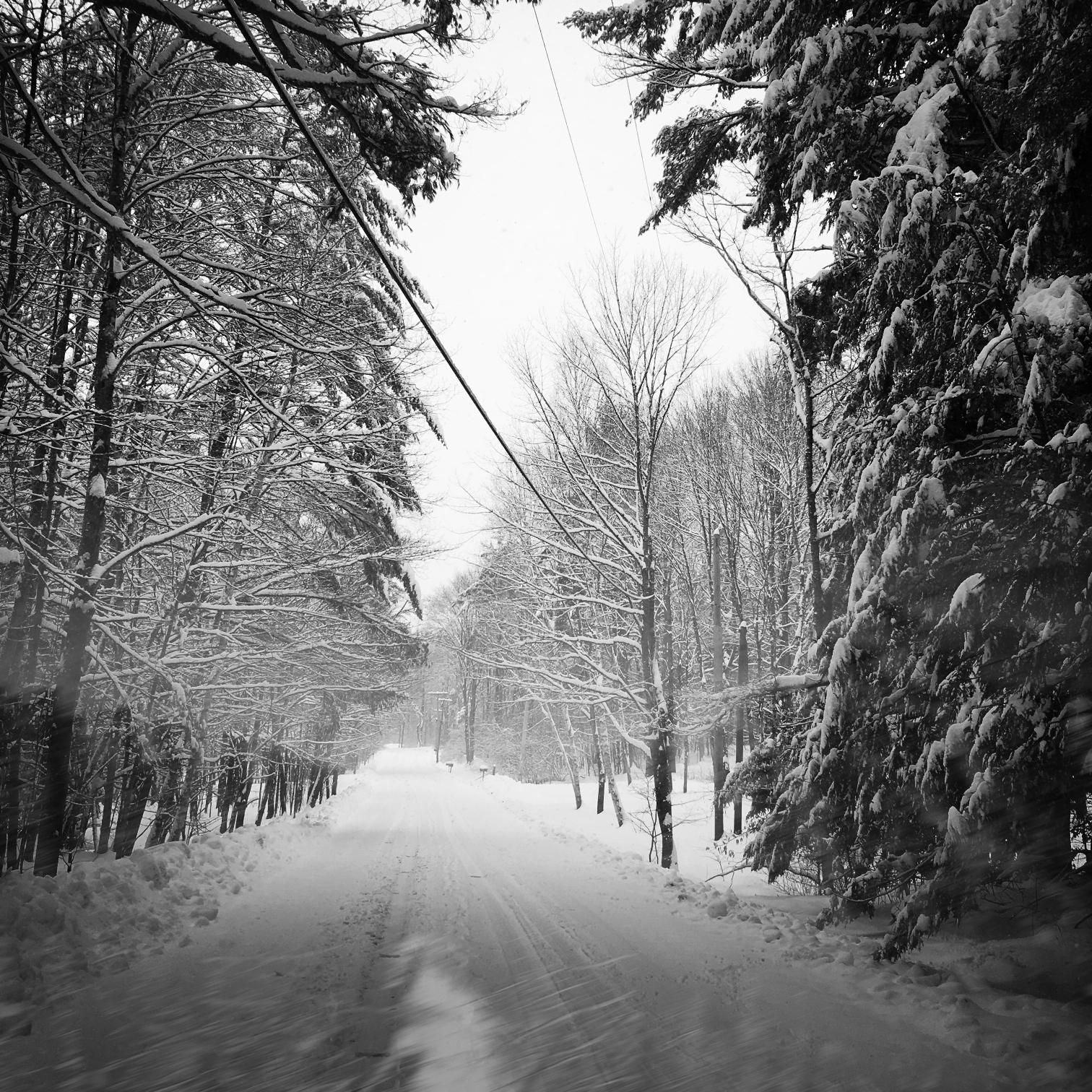 ©Snowy Road by Dena T Bray