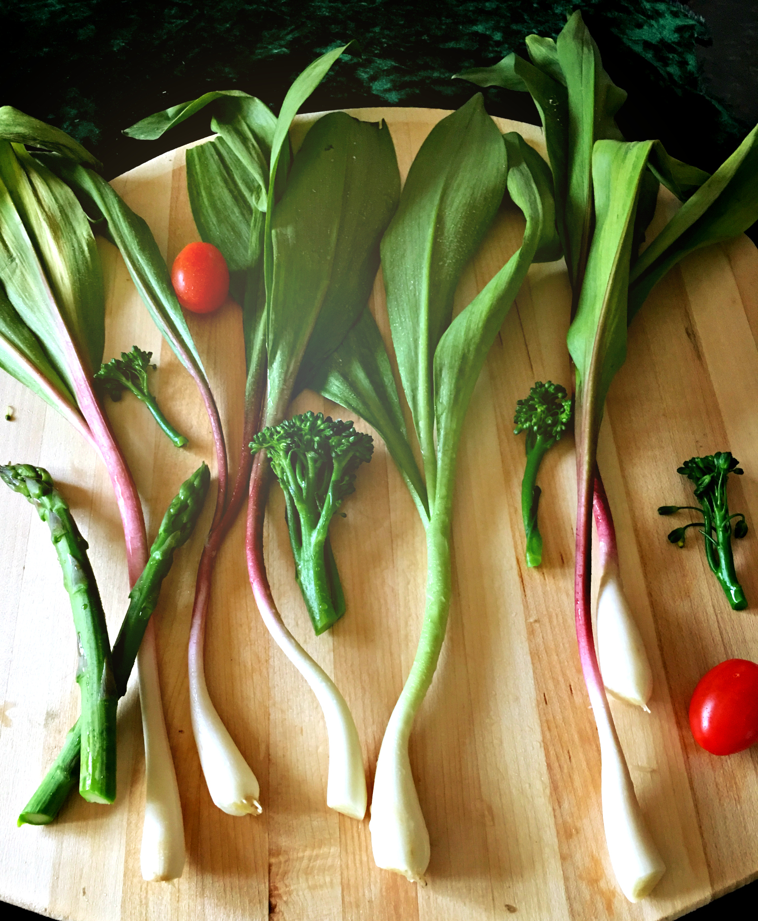 ©Wild Leeks and Vegetables by Dena T Bray