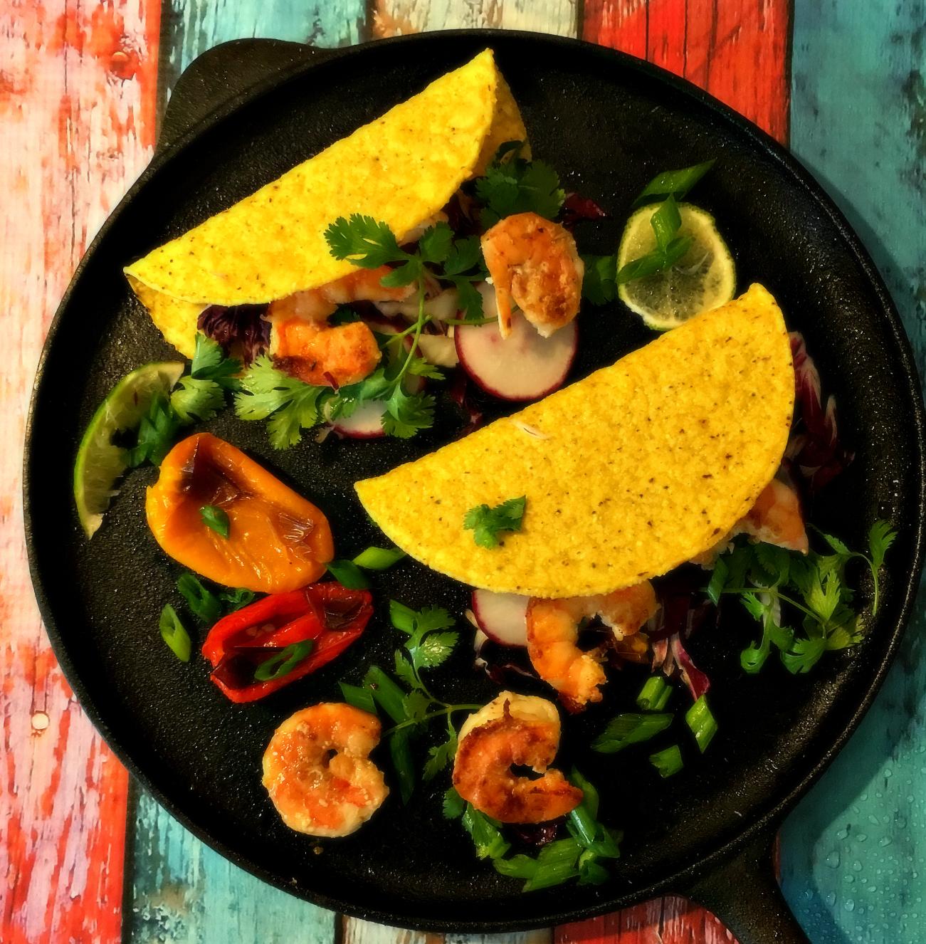 © Seafood Tacos by Dena T Brau