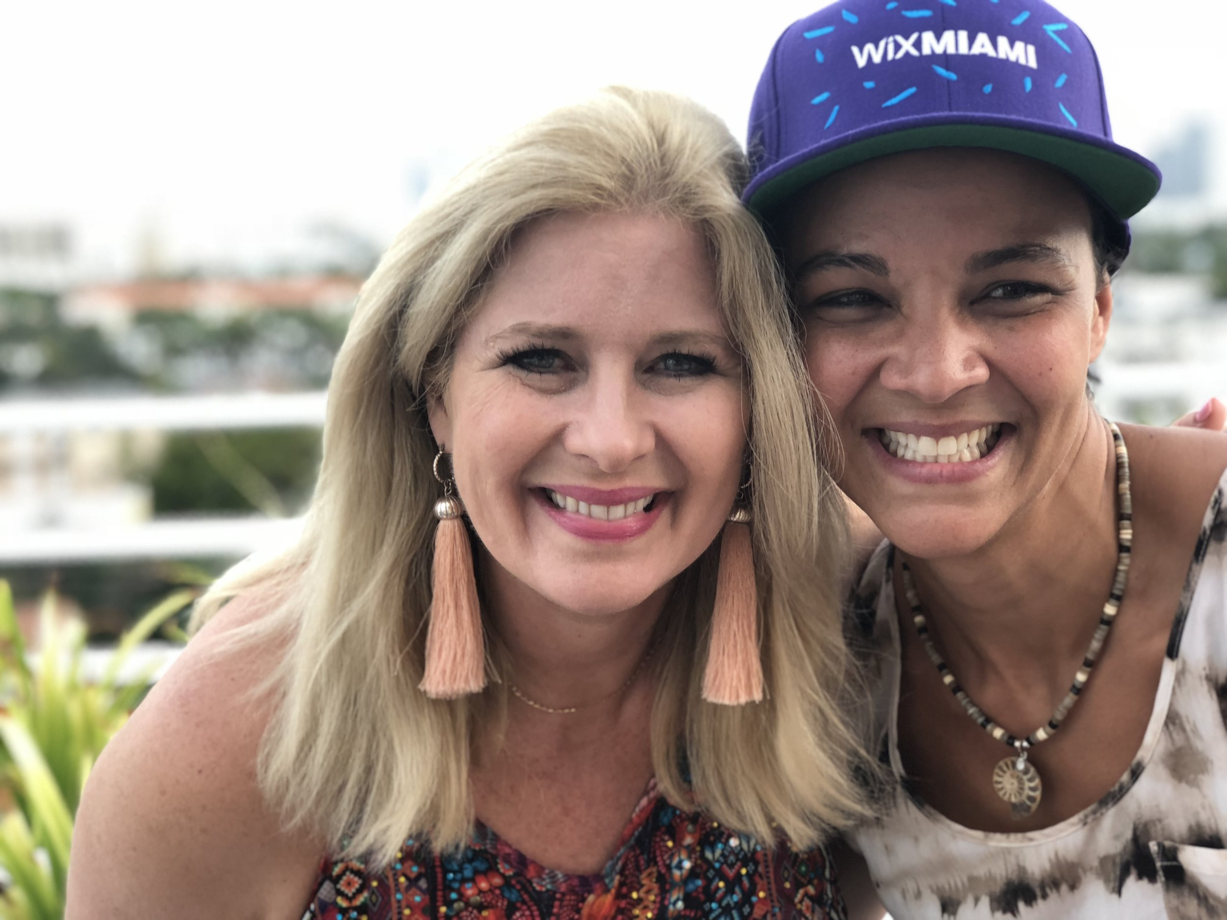 Wix Con 2018 SarahGeorge & Kate